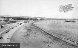 The Esplanade And Sands 1896, Paignton