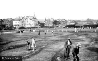Paignton, the Greens 1925
