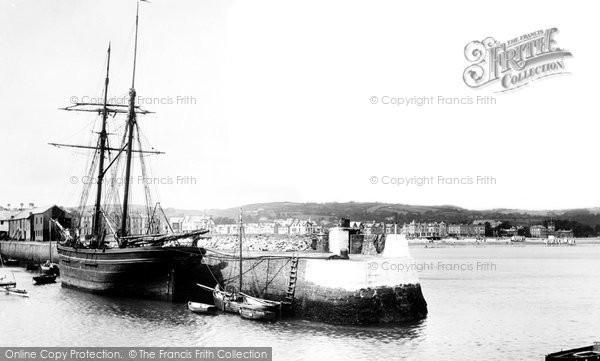 Photo of Paignton, The Harbour 1890