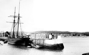 Paignton, the Harbour 1890