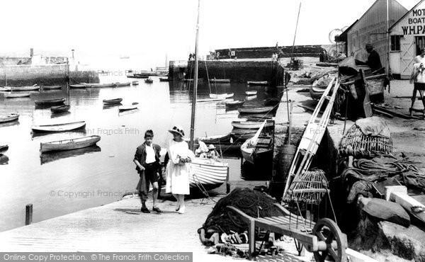 Photo of Paignton, The Harbour 1922