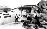Paignton, the Harbour 1922