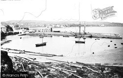 Paignton, The Harbour c.1875