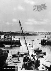 The Harbour c.1920, Paignton