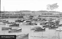 Paignton, The Harbour c.1955