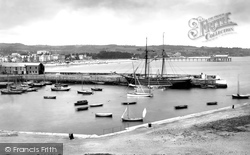 The Harbour From Above 1890, Paignton