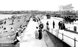 The Promenade And Sands 1907, Paignton