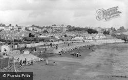 Paignton, The Sands, Preston c.1955
