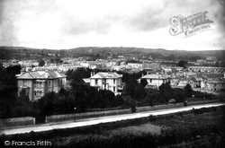 View From Belle Vue 1890, Paignton