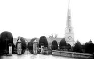 Painswick, Church north side 1890