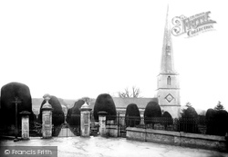 Painswick, St Mary's Church North Side 1890
