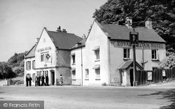 Painswick, The Royal William Hotel c.1950