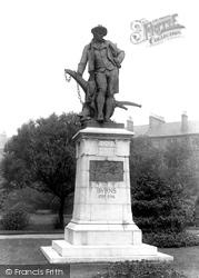 Robert Burns Memorial 1900, Paisley