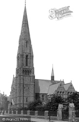Paisley, St James Church 1900