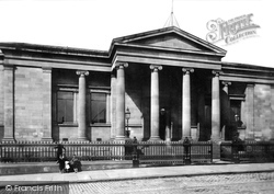 Paisley, The Free Library And Museum 1897