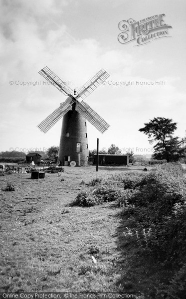 ,Pakenham, the Windmill c1960, Suffolk,