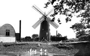 Pakenham, the Windmill c1955