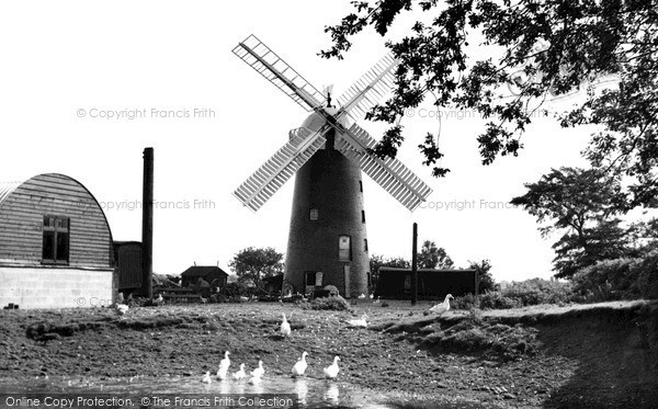 ,Pakenham, the Windmill c1955, Suffolk,