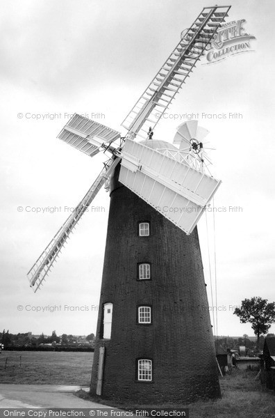 ,Pakenham, the Windmill c1965, Suffolk,