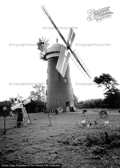Pakenham,Windmill c1955,Suffolk