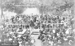Palmers Green, The Opening Of Broomfield Park 1903