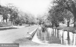 Palmers Green, The Pond, Aldermans Hill 1907
