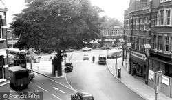 Palmers Green, The Triangle c.1965