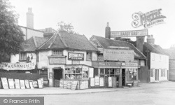 Palmers Green, Ye Olde Village Store, Hazelwood Lane 1909