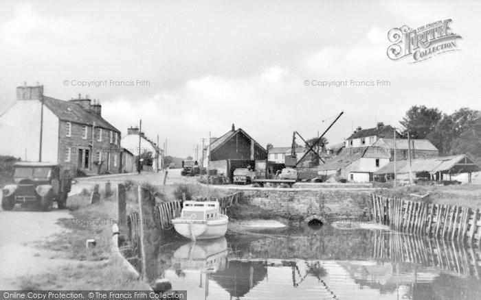 Photo of Palnackie, Harbour c.1950