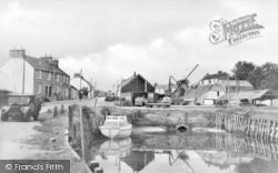 Palnackie, Harbour c.1950