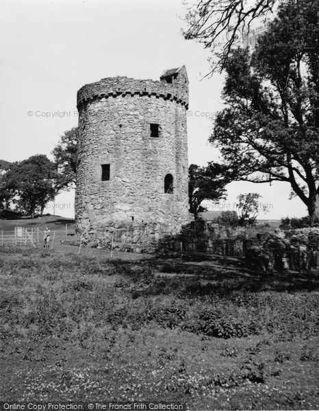 Photo of Palnackie, Orchardton Tower 1951