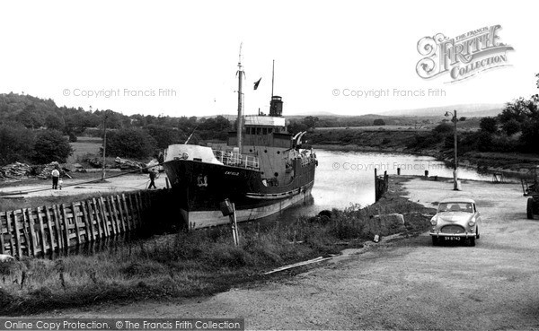 Photo of Palnackie, The Harbour c.1960