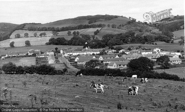 Photo of Palnackie, The Village From Woodhead c.1960