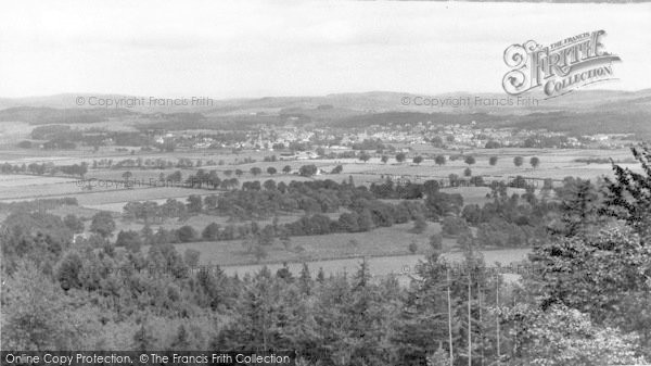 Photo of Palnackie, View From Ravens Craig c.1960
