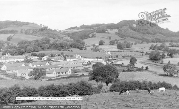 Photo of Palnackie, Village From Woodhead c.1960