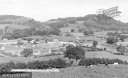 Palnackie, Village From Woodhead c.1960
