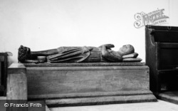Pamber Priory, Wooden Effigy Of c.1270 1951, Pamber End