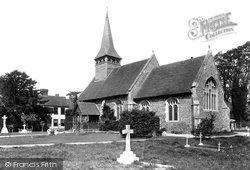 Panfield, The Church Of St Mary And St Christopher 1906