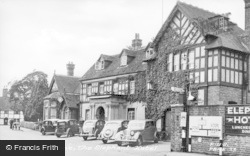 Pangbourne, The Elephant Hotel c.1955