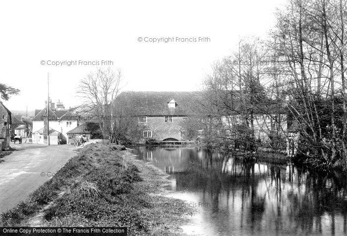 Pangbourne,the Mill 1910,Berkshire