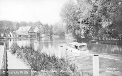 Pangbourne, The Weir Reach c.1955