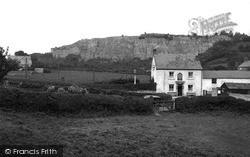 Pant, Cross Guns Hotel And Llanymynech Rock c.1936