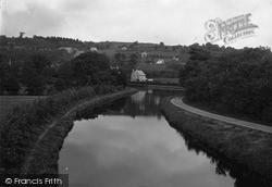 Pant, The Basin And Malthouse Bridge c.1936