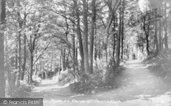 Path To The Calvary c.1950, Pantasaph