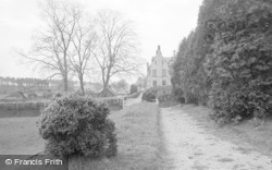 St Clare's Convent From Recreation Ground 1939, Pantasaph
