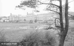 St Clare's Convent From The Pond c.1933, Pantasaph
