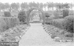 St Clare's Convent Garden c.1933, Pantasaph