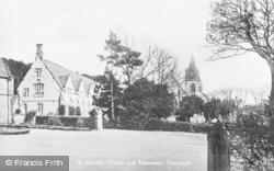 St David's Church And Monastery c.1935, Pantasaph