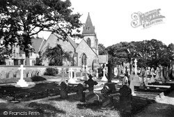 St David's Church c.1935, Pantasaph