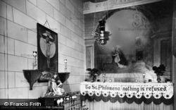 St Philomena's Shrine, St Clare's Convent c.1950, Pantasaph